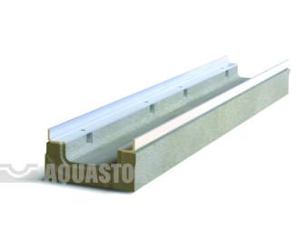 Лоток водоотводный бетонный ЛВБ Optima 100 №0/3 тип 2